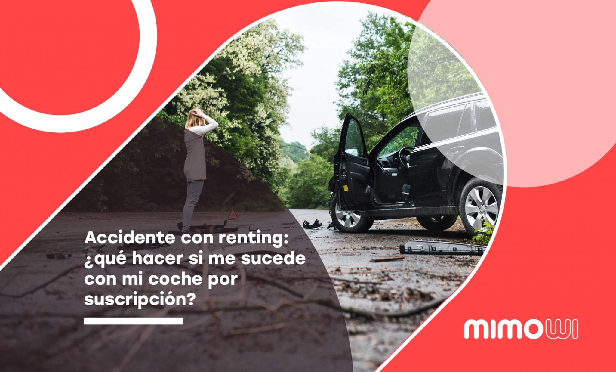 Accidente con renting